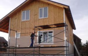 Монтаж сайдинга на деревянные стены
